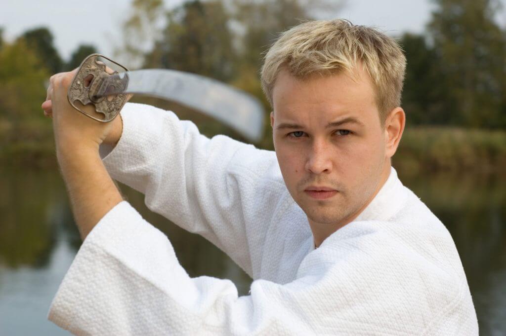Martial Arts Lessons for Adults in Orlando FL - Samurai Sword Posing Blog