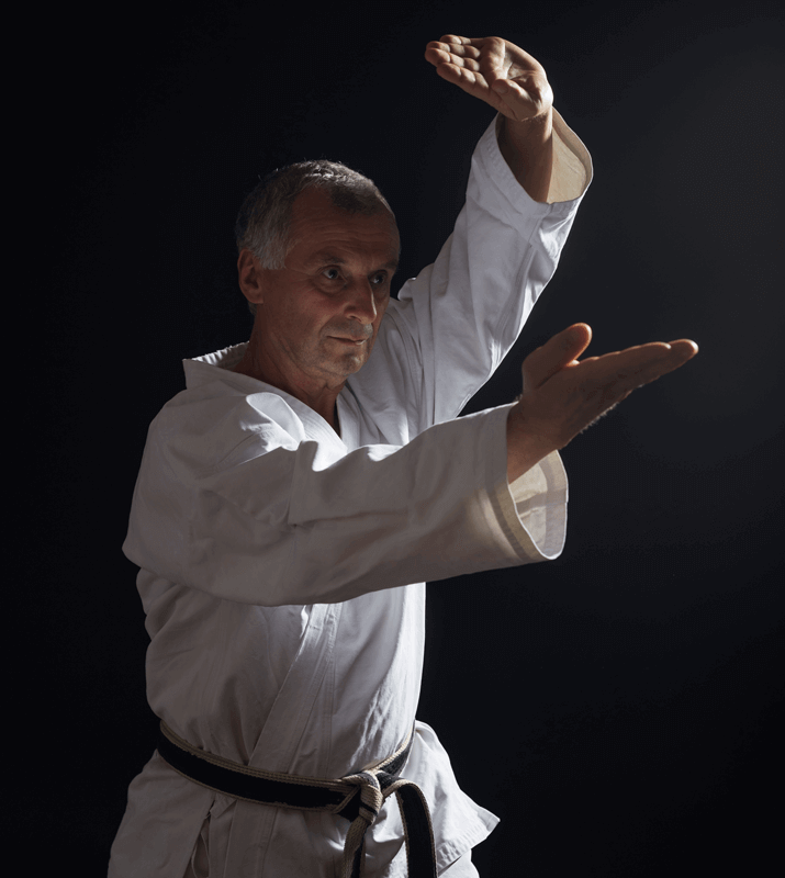 Martial Arts Lessons for Adults in Orlando FL - Older Man