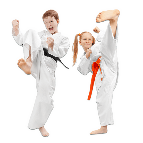 Martial Arts Lessons for Kids in Orlando FL - Kicks High Kicking Together