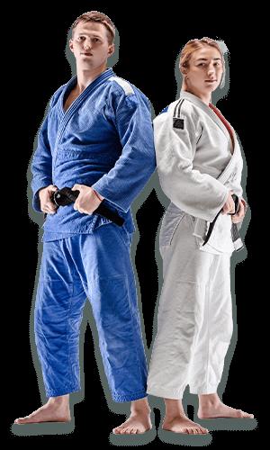 Brazilian Jiu Jitsu Lessons for Adults in Orlando FL - BJJ Man and Woman Banner Page