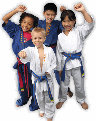 Martial Arts Summer Camp for Kids in Orlando FL - Happy Group of Kids Banner Summer Camp Page